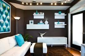 blue and brown living room chocolate brown walls and a carpet aqua blue accessories blue grey