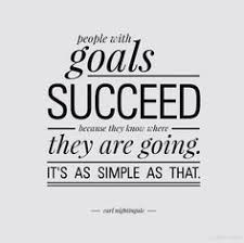 setting goals quote by tony robbins managing me and my money  people goals succeed because they know where they are going it s as simple as