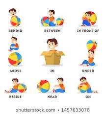 Preposition Chart For Kids Preposition Images Stock Photos Vectors Shutterstock