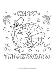 Thanksgiving coloring sheets and coloring pictures too. Thanksgiving Coloring Pages Free Printable Pdf From Primarygames