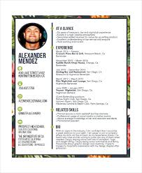 Sample Bartending Resume Free Resume Templates 2018