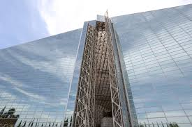 final opening of the christ cathedral doors
