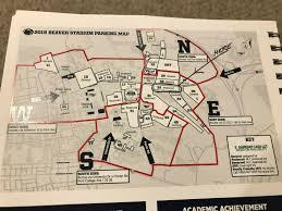 Penn State Psu Football Vs Idaho Preferred Parking Pass Lot