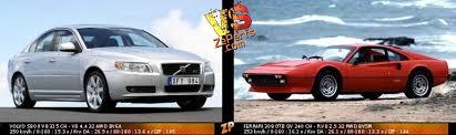 Ferrai f1 97 vs ferrari 550 maranello vs fiat. Volvo S80 Ii V8 Vs Ferrari 308 Gtb Qv Duel 14802123