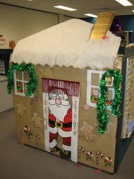 christmas cubicle decor ideas