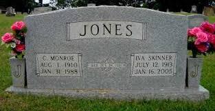 JONES, IVA - Miller County, Arkansas | IVA JONES - Arkansas Gravestone  Photos