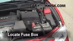 replace a fuse 2007 2011 toyota camry 2008 toyota camry le 2 4l locate engine fuse box and remove cover