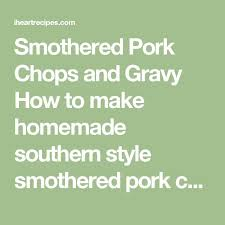 Baked Stuffed Pork Chops  Recipe  Friday Night Dinners Pork Country Style Smothered Pork Chops