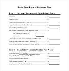 real estate business proposal template best photos of marketing plan templates brokerage pdf es