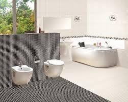 white bathroom decor. [Interior] Best Black And White Bathroom Decor With 45 Pictures. Cool