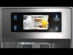 kitchenaid french door refrigerator. kitchenaid french door refrigerator with external dispenser and lcd display video kitchenaid