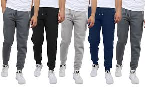 3-Pack Galaxy by Harvic Assorted Slim Fit Joggers