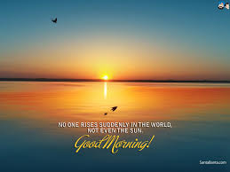 Good Morning Good Morning Quotes Sunrise 107350 Hd Wallpaper