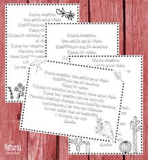 4 Free The Lords Prayer In Spanish Printable Coloring Pages The