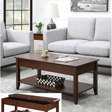convenience concepts american heritage flip top coffee table in espresso hover to zoom 1934r6 300 1 hover to zoom