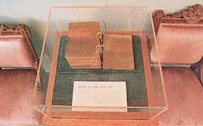 model of the gold plates