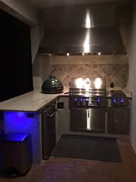 kitchen ambient lighting. outdoor kitchen stone work1446 ambient lighting