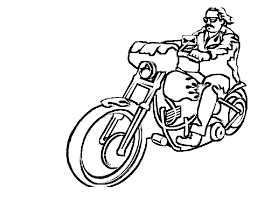 Colouring pages motorbikes free printable motorcycle coloring pages for kids