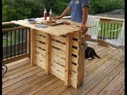 diy outdoor pallet bar ideas you