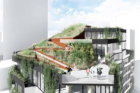 Residential Timber Design Cross Laminated Timber Structure Used To Support A Green