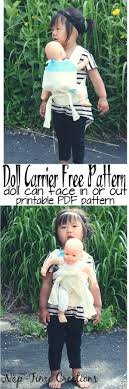 Baby Doll Carrier Pattern Unique Decorating Design