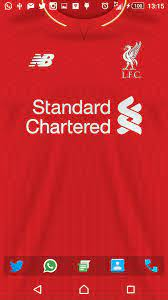 One would think that the liverpool home jersey would feel at home under such conditions. Liverpool Wallpapers Group 90