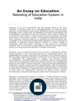 edu reforms in decentralization curriculum an essay on education analysis of education system in what we need to