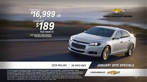 2015 Chevy Malibu Purchase and Lease Specials Sands Chevrolet ...