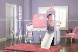 princess castle twin tent bunk bed with slide white purple pink princess castle twin tent bunk bunk beds for girls with slide bedroom the princess
