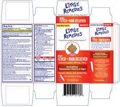 Little Remedies Infant Fever Pain Reliever Liquid Medtech
