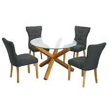round glass dining table and chairs stylish kitchen tables inside ideas patio 4