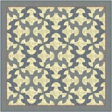 Drunkards Path Quilt Pattern Mesmerizing The Drunkard's Path Pattern Virtual Quilter