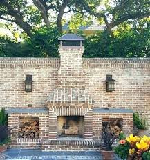 homemade outdoor brick fireplace outdoor fireplace ideas with brick exterior design distinctive diy outdoor brick fireplace