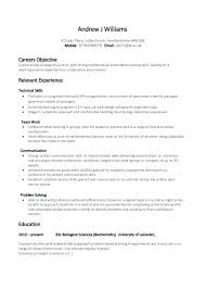 Resume Objective Section Sample Resume Example Skills Communication Skills Resume Example Skills For ...