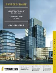 Commercial Flyers Commercial Real Estate Brochure Flyer Design Designs That Sell