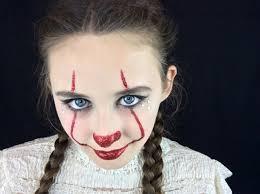 scary clown makeup tutorial easy cartooncreative co