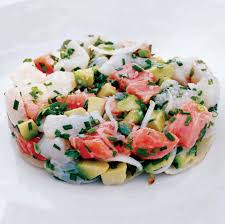 Lobster Salad with Green Beans, Apple ...