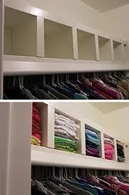 Create Cubby Storage On An Upper Closet Shelf Using LACK shelf