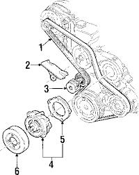 parts com® pontiac montana belts pulleys oem parts 2001 pontiac montana base v6 3 4 liter gas belts pulleys