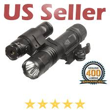 Utg Tactical Light Details About Utg Leapers Tactical Gen 2 Light Green Laser Combo With Integral Mount 400 Lumen
