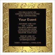 Corporate Invitation Card Format 20 Corporate Invitation Cards Psd Ai Vector Eps Word