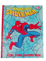 Why not urge your clever young learner to create their own adventures in spiderman comic? The Amazing Spider Man Giant Story Coloring Book 1977 Vintage Coloring Books Coloring Books Books