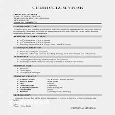 Good Example Of Resumes Sample Formats Resume New Download Resume ...