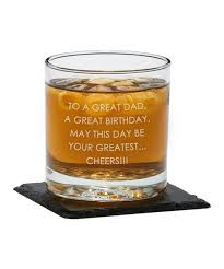 love this personalized whiskey glass set of two