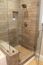 faux wood tile in modern shower contemporary bathroom grain on walls wood tile shower contemporary