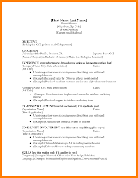 12 Resume Examples First Job Self Introduce