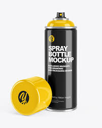 Free download only for vip member: Download Spray Can Mockup Photoshop Psd Mock Ups
