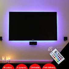 led mood lighting. bason usb powered rgb led tv monitor backlighting mood light for 32u0027 40 led lighting