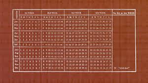 17 Month Calendar The Forgotten Campaign To Create A 13 Month Calendar