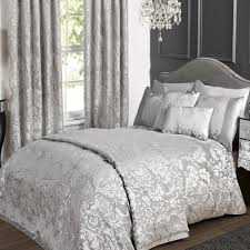 king duvet set.  Duvet KLiving Luxury Charleston Grey King Size Bedding Duvet Cover Amazoncouk  Kitchen U0026 Home For Set M